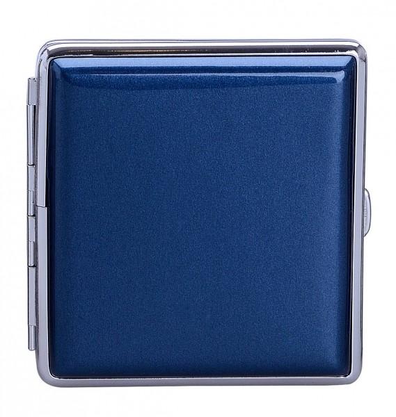 "Zigarettenetui ""Shiny"" für 20 Zigaretten Blau"