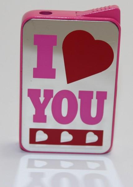 "Feuerzeug ""LOVE Mirror"" I love you"